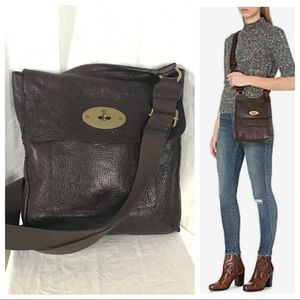 Mulberry Antony Leather Messenger Crossbody Bag